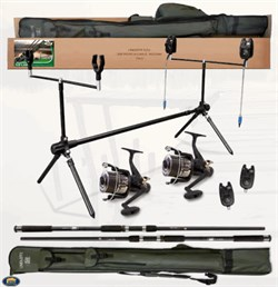 Lineaeffe Top Carp 2 2 Rod 2 Reel Rod Cover Rod Pod Accessorıes