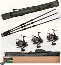 Lineaeffe Top Carp 3 3 Rod 3Reel Red Cover