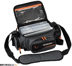 Savage gear System Box Bag S 3 Boxes & PP Bags (15x 36x 23 cm)