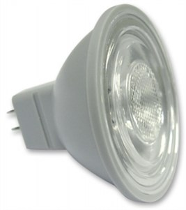 Led Ampul Şeffaf Lensli 1W Ø 50mm